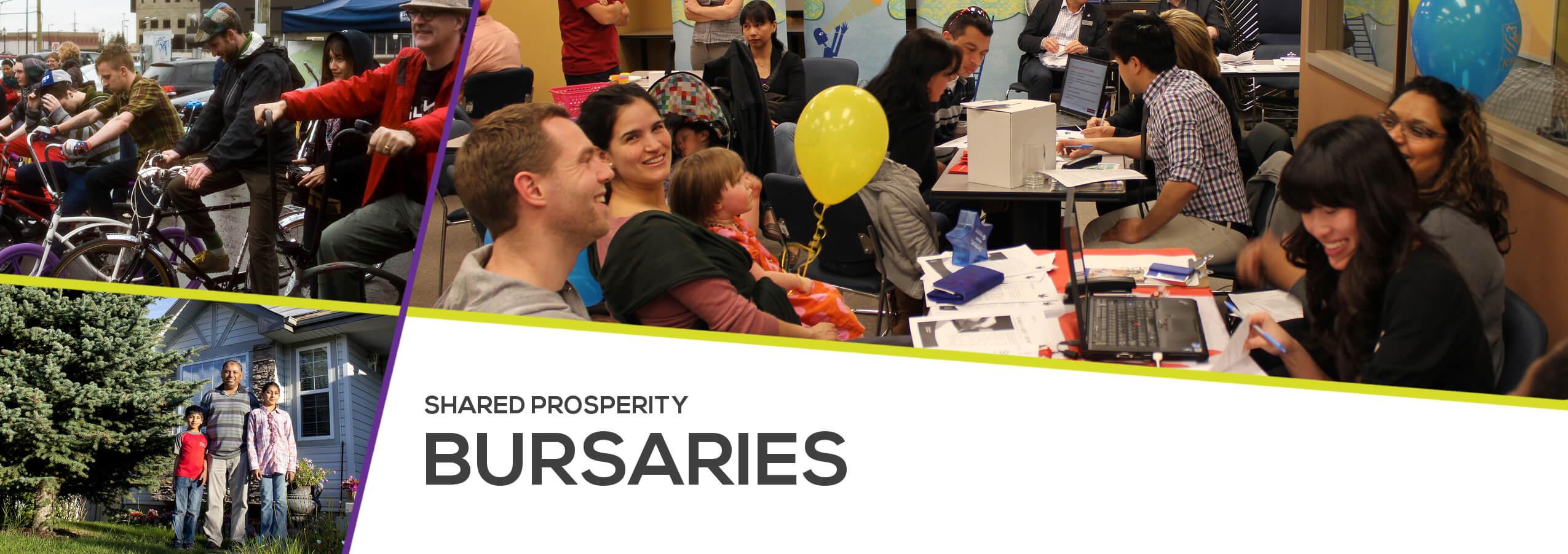 Shared Prosperity Bursaries