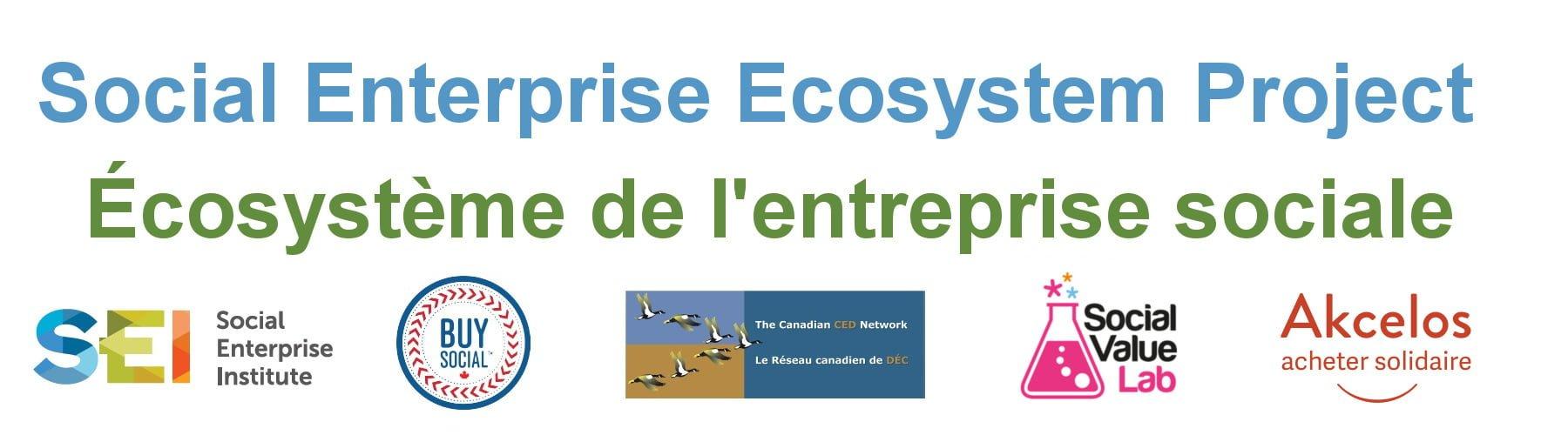 Projet d'écosystème de l'entreprise sociale